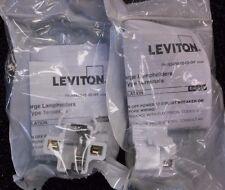 (Lot of 2) LEVITON 26720-100 Compact Fluorescent Lamp Holder 75 W Max (E12S)