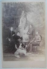 Österreichisches Kaiserhaus Originalfotografie, Albumin auf Karton Wien 1873