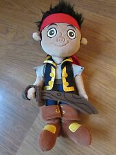 """Disney Store 13"""" Peluche JAKE from JAKE AND THE NEVERLAND PIRATES"""