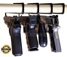 Set 4 Handgun Hanging Gun Safes Storage Accessories Organizer USA Space Saver