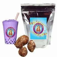 Taro Boba / Bubble Tea Powder by Buddha Bubbles Boba (1 Pound | 453 Grams)