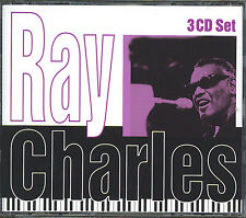 RAY CHARLES - ANTHOLOGY - 45 SONGS - MINT 3 CD BOX SET