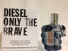DIESEL ONLY THE BRAVE POUR HOMME BY DIESEL 2.5 OZ EDT SPRAY NEW WITH CAP