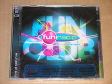 2 CD / FUN RADIO 2008 / FUN CLUB - LE SON DANCE FLOOR / NEUF SOUS CELLO