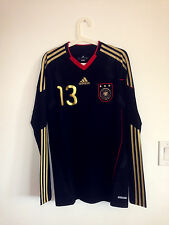 NWOT! RARE GERMANY 2010-11 AWAY LS TECHFIT PLAYER ISSUE SHIRT TRIKOT #13 BALLACK