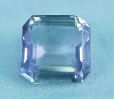 18 CARATS FACETED  KUNZITE GEMSTONE OCTAGON CUT EXCELLENT VVS CLARITY
