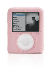 GRIFFIN Elan Form Pink Hard Leather Case Cover Protector iPod Nano 3G 3rd Gen