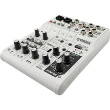Yamaha AG06 Multipurpose 6-Channel Mixer with USB Audio Interface w/ Cubase AI