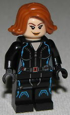 Lego New Black Widow Short Hair Marvel Super Heros Minifigure Age of Ultron Girl