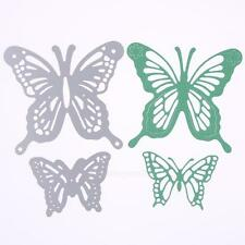 2Pcs Butterfly Cutting Dies Stencil Scrapbooking Album Paper Card Embossing DIY