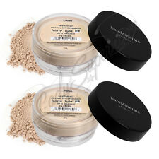 BAREMINERALS Bare Escentuals FAIRLY LIGHT N10 SPF15 Foundation XL 8gm - LOT OF 2