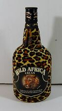 OLD EMPTY BOTTLE FROM WILD AFRICA CREAM LIQUEUR NO ALCOHOL 700ML
