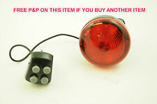 POLICE SIREN HORN AND RED LIGHT FOR CHILDREN'S BIKES, IDEAL PRESENT
