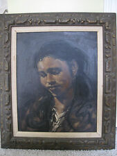W. CLARENCE McGRATH  Original Oil Painting by Listed American Artist