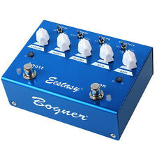 Bogner Ecstasy Blue Channel Electric Guitar OD Effect Pedal Open Box!