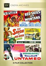 Red Skies of Montana / Siege at Red River - Region Free DVD - Sealed