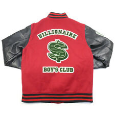 Arm Leather Stadium with BBC Back Dollar Logo Patch RED XL