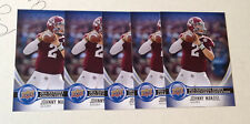 Lot of (5) 2014 Upper Deck National Promo JOHNNY MANZIEL Rookie NSCC Convention