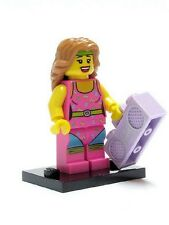Genuine Lego 8805 Series 5 Minifigure no. 10 Fitness Instructor