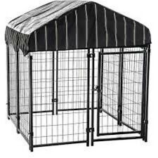 "Lucky Dog CL 60445 Lockable Pet Resort, 52""H X 48""W X 48""L with Cover"