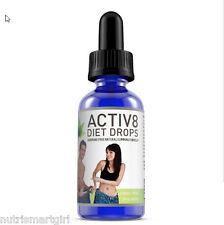 ACTIV8 Diet Drops Weight loss Fat Burning Slimming Complex Strong Extreme Slim
