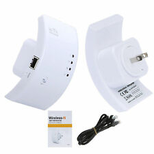 300M Wireless-N Wifi Repeater 802.11n/g/b Network Router Range Expander US Plug