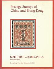 SOTHEBY'S Postage Stamps China Hong Kong Auction Catalog 99