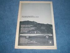 "1968 Buick Skylark Vintage Ad ""How to Make Money and Win a Friend..."""