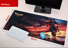 900*400mm LOL High-Precision Yasuo Gaming Mat Mauspad PC Mice Keyboard Mat