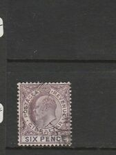 Gibraltar 1903 Crown CA 6d Used SG 50