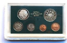 1982  AUST PROOF SET OF 6  COINS THEME: X11 Commonwealth  Games