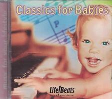 Classics For Babies Music CD 1999 Classical Collection Life Beats