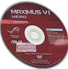ASUS Maximus VI  Hero MOTHERBOARD DRIVERS M3097 WIN 10 DUEL LAYER DISK