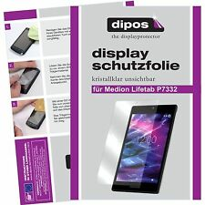 2x Medion Lifetab P7332 MD99103 Schutzfolie Display Folie P 7332 klar dipos