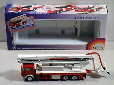 DTE 1:55 W GERMANY SIKU 3720 MERCEDES BENZ FEUERWEHR SNORKEL FIRE ENGINE TRUCK