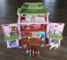 Fisher Price Loving Family Twin Time Grand Mansion Dollhouse People & Furniture