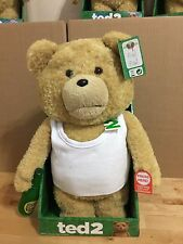 Ted 2 *DANCING* Tank Top 16-Inch R-Rated Talking Plush Ships from CA, USA