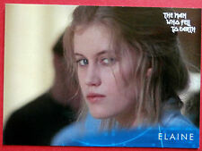 DAVID BOWIE - The Man Who Fell To Earth - Card #11 - Elaine - Unstoppable 2014