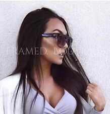 DESIGNER Inspired SHADOW SHIELD Flat Top BURGUNDY Nude SUNGLASSES Celebrity