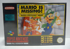 MARIO IS MISSING!  --  SNES SUPER NINTENDO PAL - BOXED