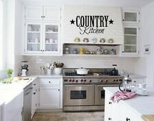 COUNTRY KITCHEN  HOME  VINYL WALL DECOR DECAL WALL LETTERING