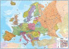 Poster Europakarte politisch Querformat 138x98cm #110057