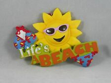 Life's a Beach Sunshine and Bikini Beach Christmas Tree Ornament new holiday