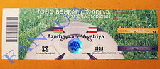 RARE ticket Azerbaijan - Austria national team 2005 World Cup 2006