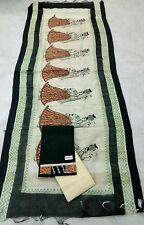 HANDLOOM COTTON WITH GHAGRA EMBROIDERY DUPATTA