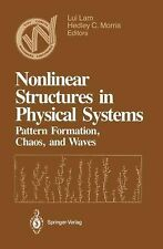 Woodward Conference Ser.: Nonlinear Structures in Physical Systems : Pattern...