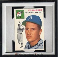 1954 Topps ED MCGHEE #215 NM *beautiful card for your set* M23b