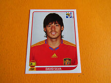 578 SILVA ESPAÑA ESPAGNE PANINI FOOTBALL FIFA WORLD CUP 2010 COUPE DU MONDE
