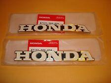 Honda CB500 CB550 CB550K CB750 tank emblem set OEM
