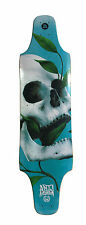 Longboard Downhill Drop TOP mount 50 shades of DEATH longboard deck GRIPPED D33